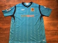Global Classic Football Shirts   2009 Hull City Old Vintage Soccer Jerseys